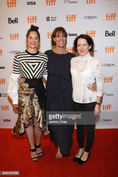 Ruth Wilson Clio Barnard and Tracy O'Riordan attend the 'Dark River' premiere during the 2017 Toronto International Film Festival at Winter Garden...
