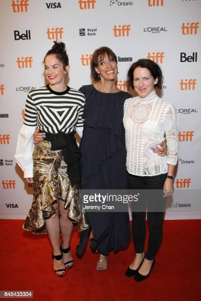 Ruth Wilson Clio Barnard and Tracy O'Riordan attend the 'Dark River' premiere during the 2017 Toronto International Film Festival at Winter Garden...