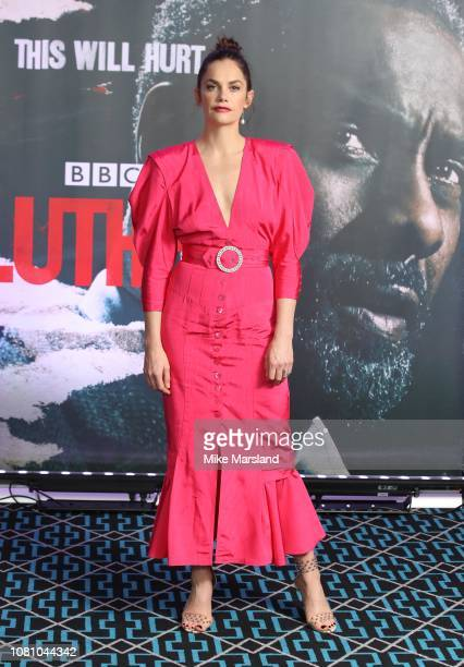Ruth Wilson during a photocall for BBC One's Luther held at The Courthouse Hotel on December 11 2018 in London England