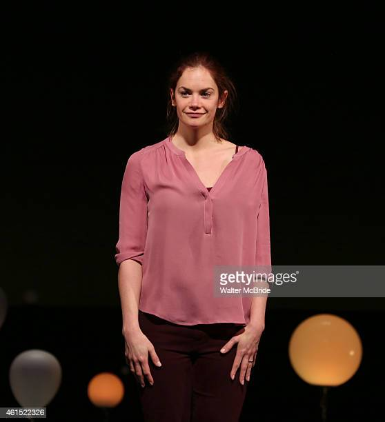Ruth Wilson during the Broadway Opening Night Performance Curtain Call for The Manhattan Theatre Club's production of 'Constellations' at the Samuel...