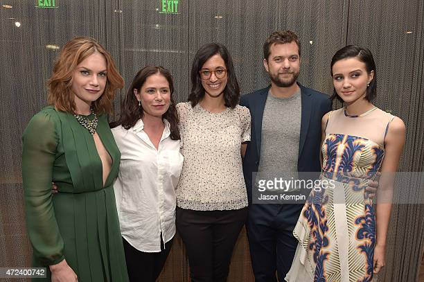 Ruth Wilson Maura Tierney Sarah Treem Joshua Jackson and Julia Goldani Telles attend the after party for Showtime's The Affair at the Samuel Goldwyn...