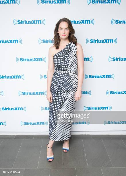 Ruth Wilson visits SiriusXM Studios on August 16 2018 in New York City