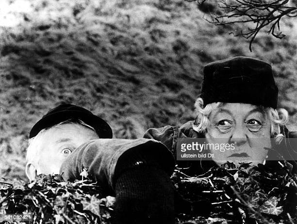 Rutherford, Margaret - Actress, Great Britain - *11.05.1892-+ Scene from the movie 'Murder She Said'' Directed by: George Pollock Great Britain 1961...