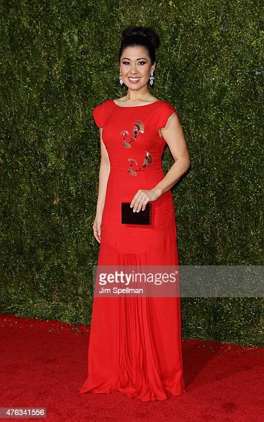 Ruthie Ann Miles attends American Theatre Wing's 69th Annual Tony Awards at Radio City Music Hall on June 7 2015 in New York City