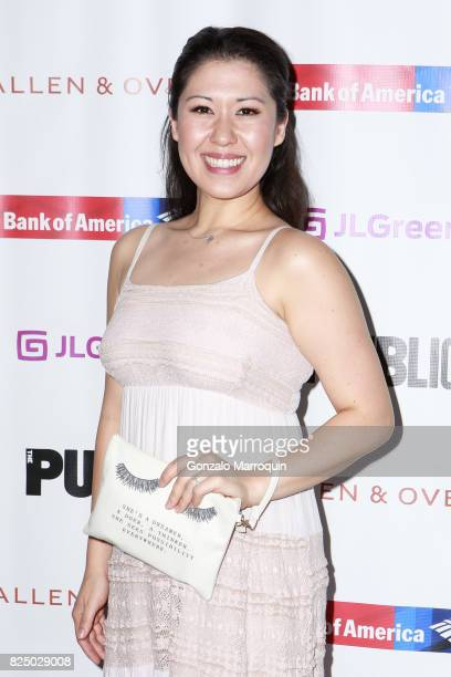Ruthie Ann Miles attends the 'A Midsummer Night's Dream' Opening Night at Delacorte Theater on July 31 2017 in New York City