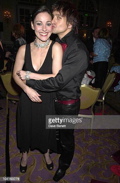 Ruthie Henshall And New Boyfriend The Royal National Institute For The Blind Gala Dinner And Auction At The Savoy Hotel London