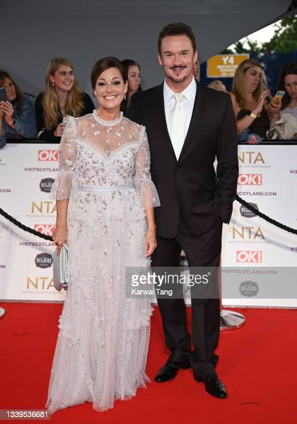 Ruthie Henshall and Russell Watson attend the National Television Awards 2021 at The O2 Arena on September 09, 2021 in London, England.