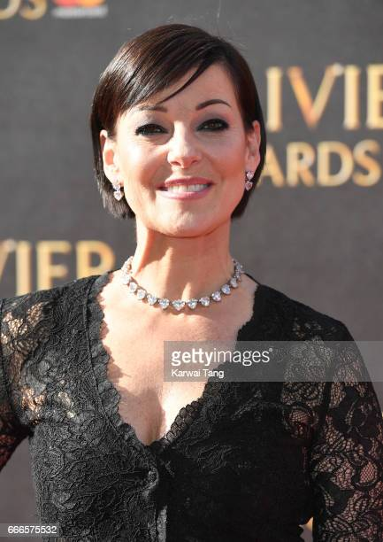 Ruthie Henshall arrives for The Olivier Awards 2017 at the Royal Albert Hall on April 9 2017 in London England