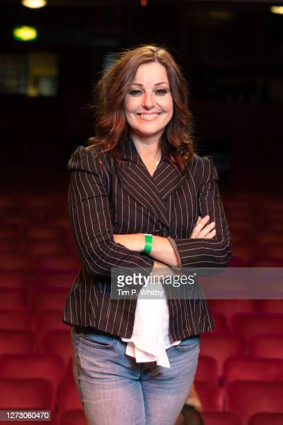 Ruthie Henshall, one of the presenters for the 'Magic with the Musicals' event poses for a photograph at London Palladium on September 17, 2020 in...