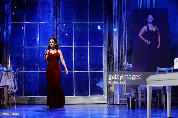 Ruthie Henshall performs in the production Marguerite at the Theatre Royal Haymarket in London