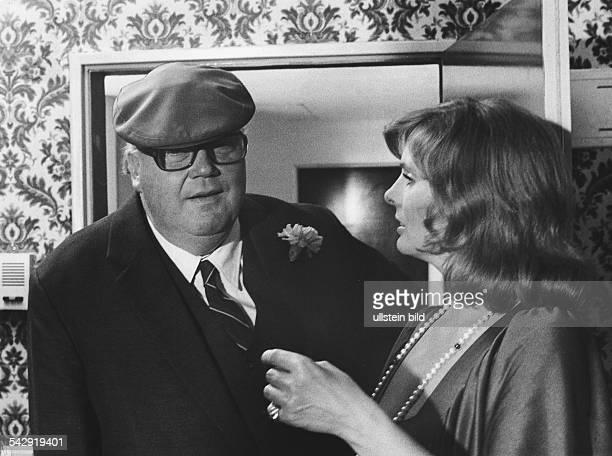 RuthMaria Kubitscheck und Henning Schlüter in der ZDFProduktion 'Geschichten zu Zweit'1973
