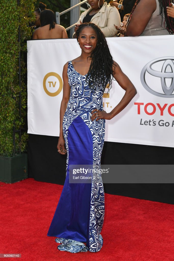 Rutina Wesley at the 49th NAACP Image Awards on January 15, 2018 in Pasadena, California.