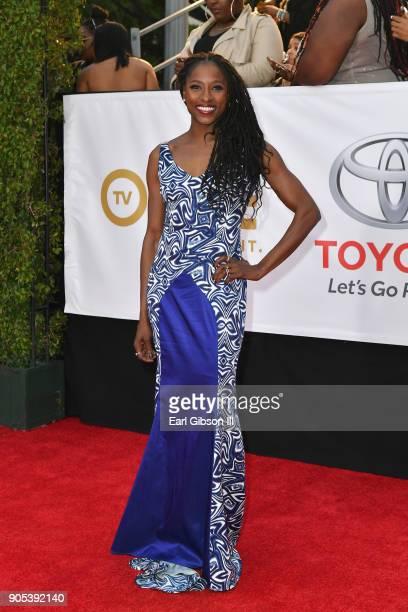 Rutina Wesley at the 49th NAACP Image Awards on January 15 2018 in Pasadena California