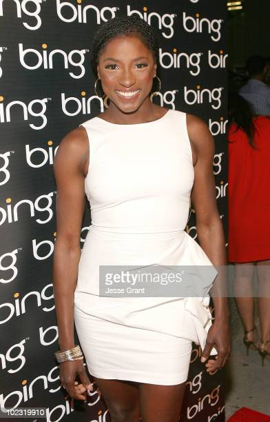 Rutina Wesley attends Bing's Celebration of Creative Minds at BOA Steakhouse on June 22 2010 in West Hollywood California