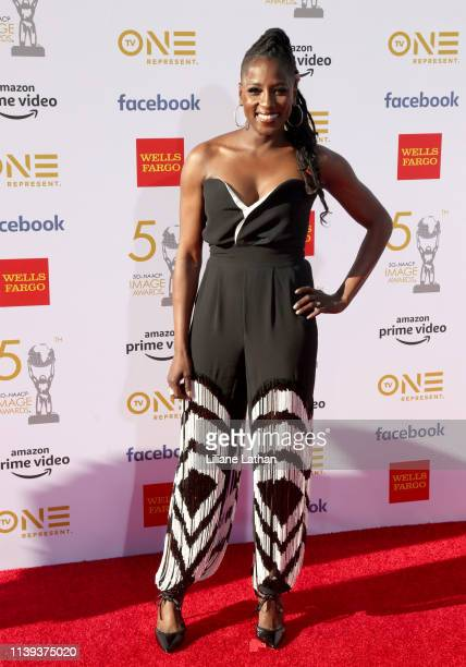 Rutina Wesley attends the 50th NAACP Image Awards at Dolby Theatre on March 30 2019 in Hollywood California