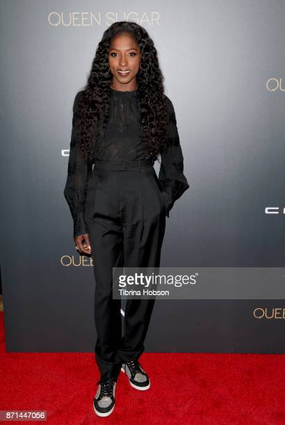 Rutina Wesley attends the taping of 'Queen Sugar AfterShow' at OWN Oprah Winfrey Network on November 7 2017 in West Hollywood California