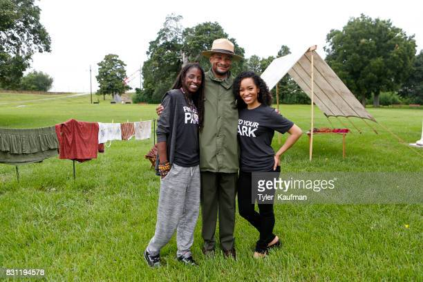 Rutina Wesley National Park Service Superintendent Lance Hatten and DawnLyen Gardner attend the National Park Foundation's Parks 101 Experience at...