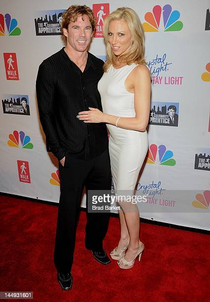 Rutledge Taylor and Debbie Gibson attends the Celebrity Apprentice Live Finale at American Museum of Natural History on May 20 2012 in New York City