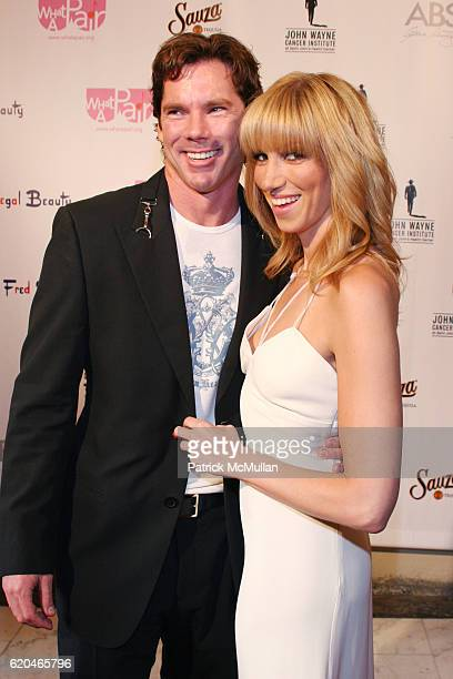 """Rutledge Taylor and Deborah Gibson attend """"What A Pair! 6"""" John Wayne Cancer Institute Benefit at Orpheum Theatre on June 8, 2008 in Los Angeles, CA."""