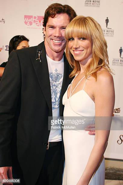 Rutledge Taylor and Deborah Gibson attend What A Pair 6 John Wayne Cancer Institute Benefit at Orpheum Theatre on June 8 2008 in Los Angeles CA
