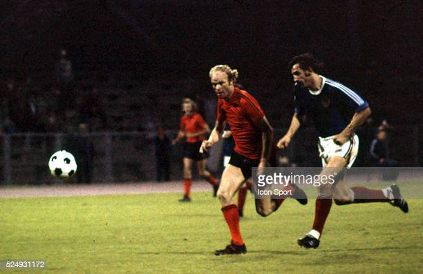 Ruud Geels of Holland during the European Championship for the 3rd place between Holland and Yugoslavia in Stadium Maksimir Zagreb Yugoslavia on 19th...