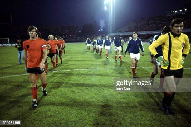 Ruud Krol of Holland and Ognjen Petrovic of Yugoslavia during the European Championship for the 3rd place between Holland and Yugoslavia in Stadium...