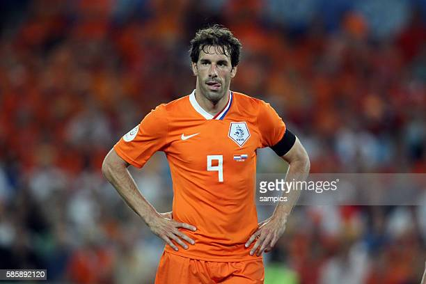 Ruud van Nistelrooy during the EURO 2008 Quarter Final match between the Netherlands and Russia at the St Jakob Park stadium Basel Switzerland