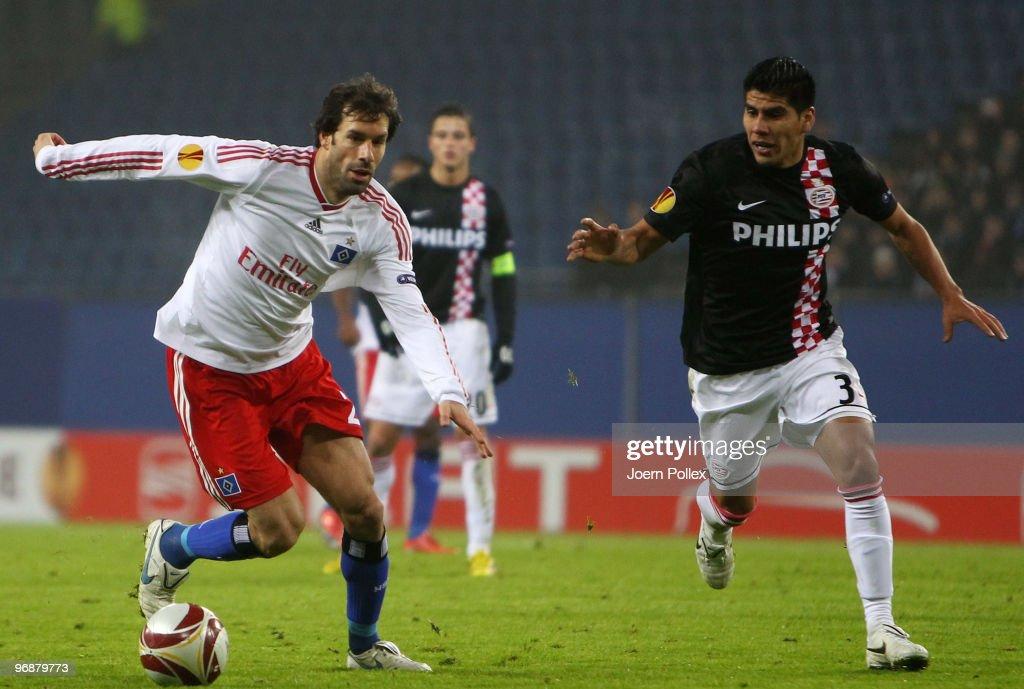 Hamburger SV v PSV Eindhoven - UEFA Europa League