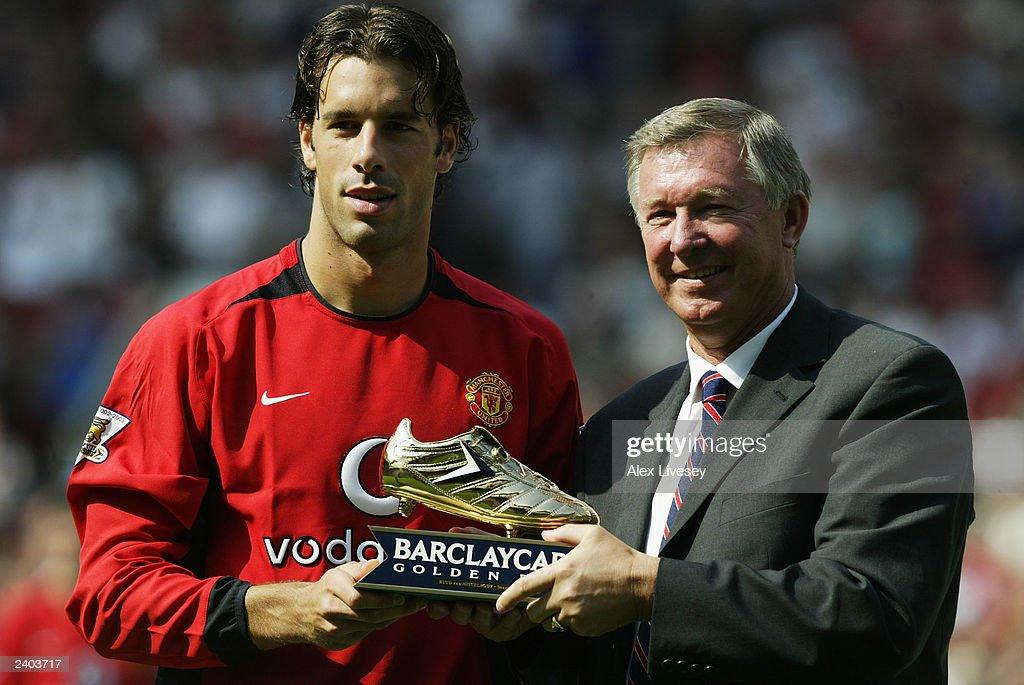 Ruud Van Nistelrooy Awarded Golden Boot : News Photo