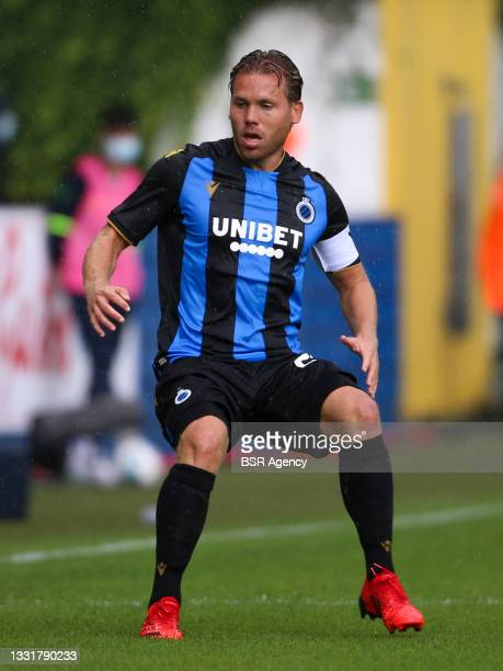 Ruud Vormer of Club Brugge during the Jupiler Pro League match between Union Saint Gilloise and Club Brugge at Joseph Marien Stadion on August 1,...