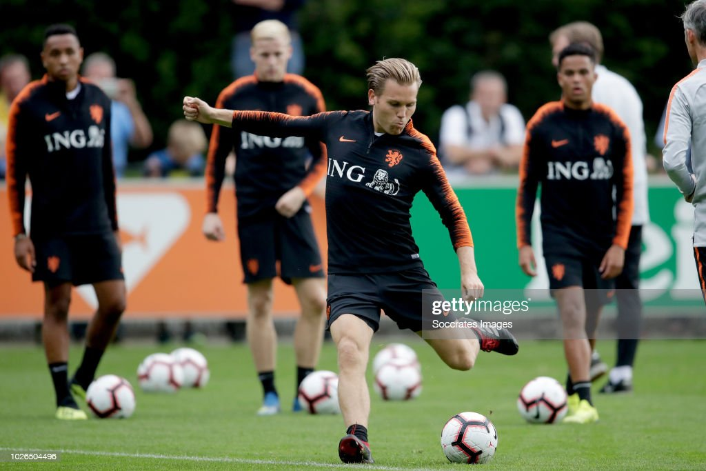 Ruud Vormer of Holland during the Training Holland at the KNVB Campus on September 3, 2018 in Zeist Netherlands