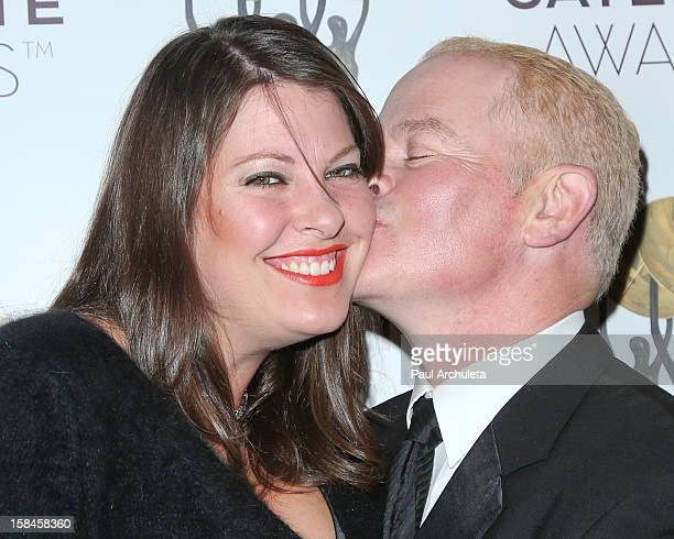 Ruve McDonough and Actor Neal McDonough attends the International Press Academy's 17th Annual Satellite Awards at InterContinental Hotel on December...