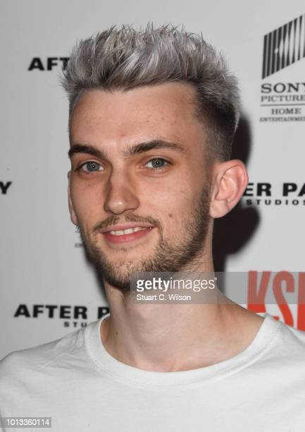 Rvbberduck attends the World Premiere of 'KSI Can't Lose' documentary at Picturehouse Central on August 8 2018 in London England