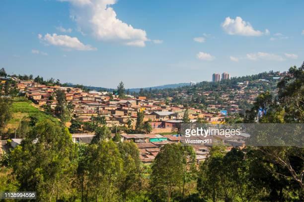 rwanda, view to kigali - キガリ ストックフォトと画像