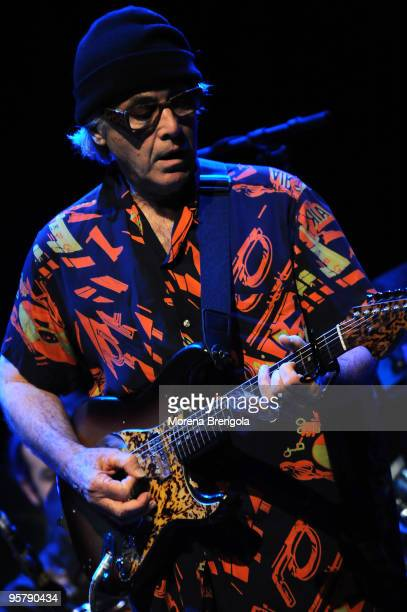 Ry Cooder performs at Smeraldo's Theatre on June 27 2009 in Milan Italy