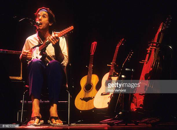Ry Cooder performs on stage at Carre Amsterdam Netherlands 2nd July 1990