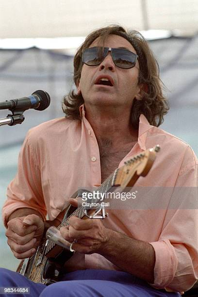 Ry Cooder performs with David Lindley at Electric on the Eel at Angel's Camp California on August 25 1990
