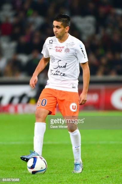 Ryad BOUDEBOUZ Lille / Montpellier 9e journee de Ligue 1 Photo Dave Winter / Icon Sport