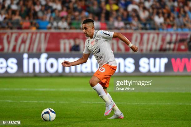 Ryad BOUDEBOUZ Troyes / Montpellier 4eme journee de Ligue 1 Photo Dave Winter / Icon Sport