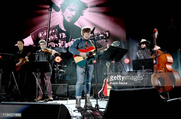 Ryan Adams performs onstage during I Am The Highway A Tribute To Chris Cornell at The Forum on January 16 2019 in Inglewood California