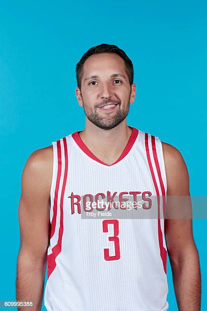 Ryan Anderson of the Houston Rockets poses for a headshot during the 20162017 Houston Rockets Media Day on September 23 2016 at the Toyota Center in...