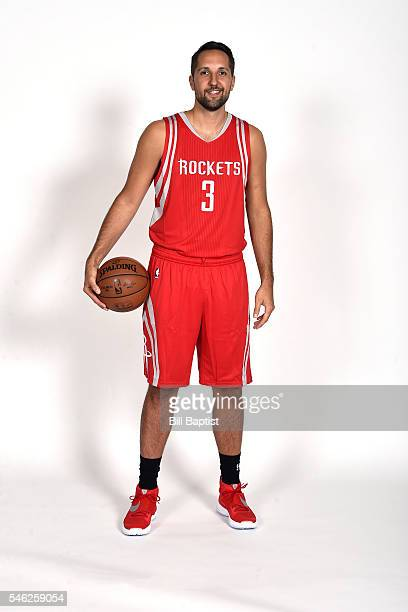 Ryan Anderson of the Houston Rockets poses for a portrait on July 9 2016 at Toyota Center in Houston Texas NOTE TO USER User expressly acknowledges...