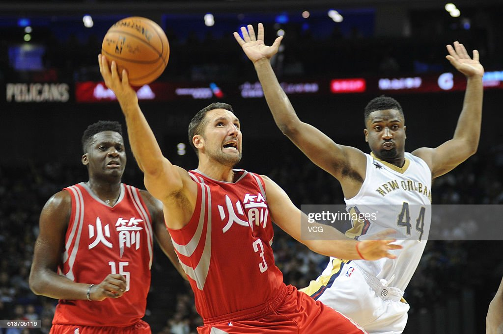 New Orleans Pelicans v Houston Rockets