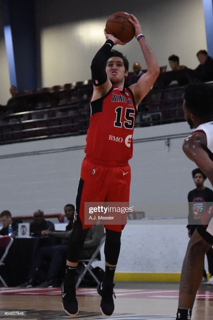 Ryan Arcidiacono #15 of the Windy City Bulls shoots the ball during the game against the Sioux Falls Skyforce at the NBA G League Showcase Game 13 on January 11, 2018 at the Hershey Centre in Mississauga, Ontario Canada.