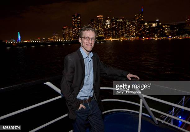 Ryan Atkins at the 'Conrad' series party on the Spirit of Chicago boat event showcasing the new crime drama that focuses on women empowerment and...