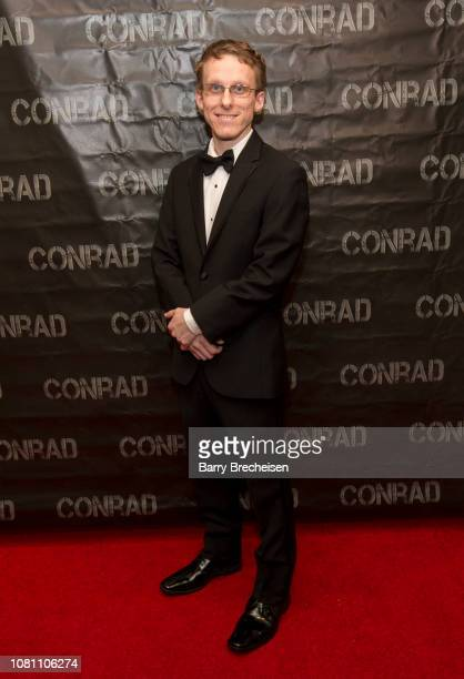 Ryan Atkins during the Conrad series premier screening at the Gene Siskel Film Center on December 2 2018 in Chicago Illinois