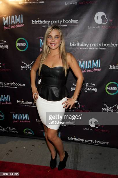 Ryan attends the MIAMI MONKEY Premiere Party Presented By JustJenn Productions And The Weinstein Company at 49 Grove on September 8 2013 in New York...
