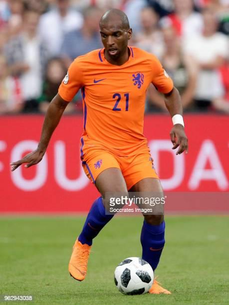 Ryan Babel during the Dirk Kuyt Testimonial at the Feyenoord Stadium on May 27 2018 in Rotterdam Netherlands