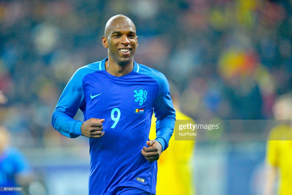 Ryan Babel (Ned)during the International Friendly match between Romania and Netherlands at National Arena Stadium in Bucharest, Romania, on 14 november 2017.