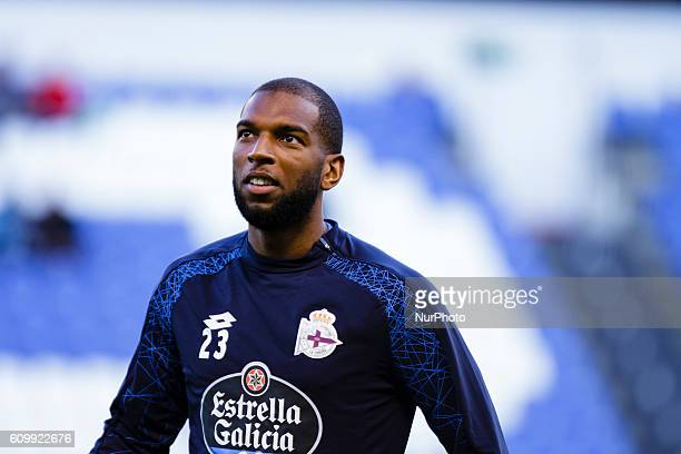 Ryan Babel during the Spanish league football match between Real Club Deportivo de La Coruña vs Club Deportivo Leganés at estadio Municipal de Riazor...